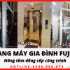 Cách chọn thang máy cho nhà ống - Thang máy Fujido