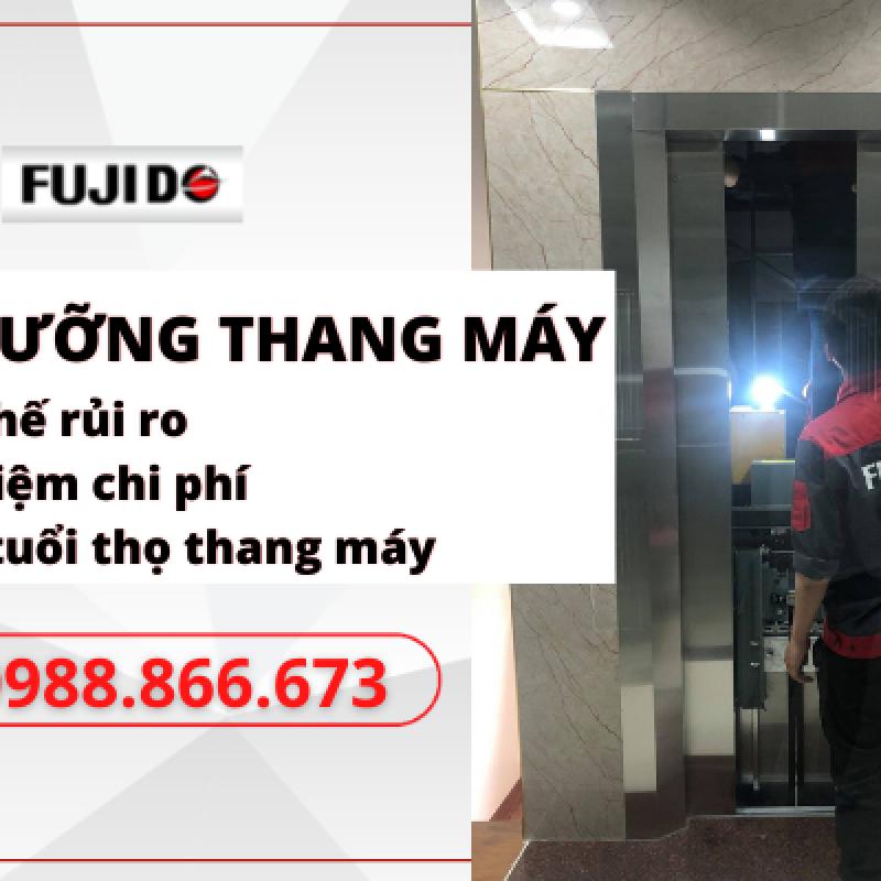 Dịch vụ bảo dưỡng thang máy gia đình Fujido đem đến sự an tâm cho mọi khách hàng