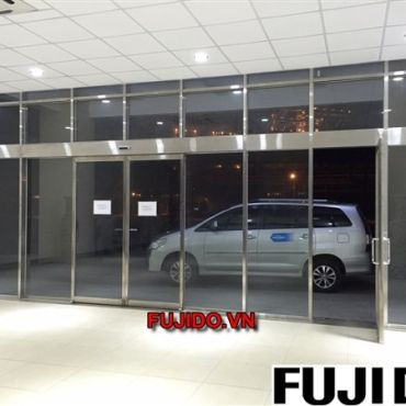 Sản xuất khung Inox cửa kính tự động