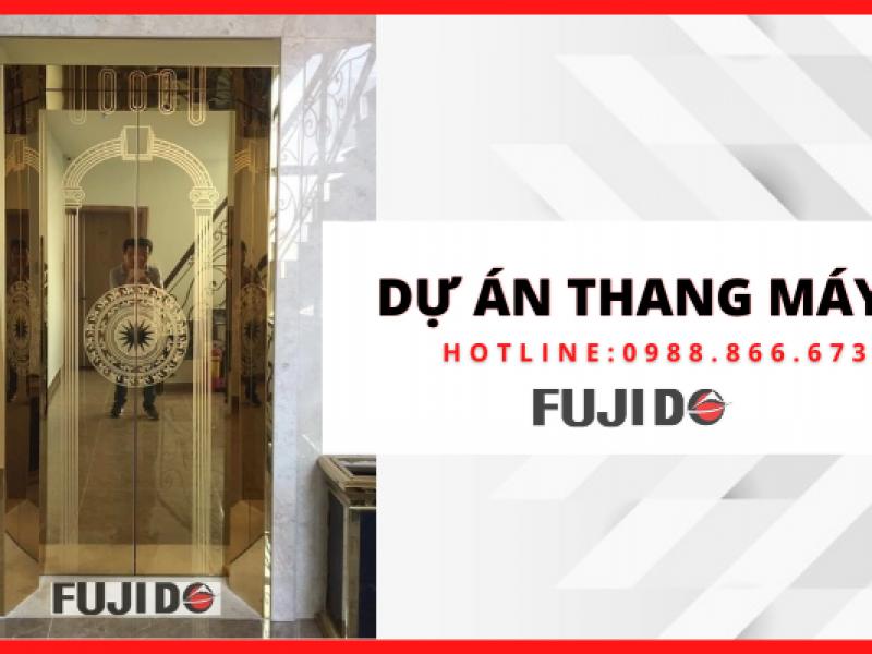 Dự án thang máy gia đình thực hiện bởi Fujido