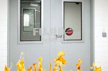 Tìm hiểu kết cấu sản xuất cửa Inox chống cháy đạt tiêu chuẩn
