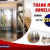 Thang máy Homelift 350kg tiết kiệm diện tích cho nhà phố